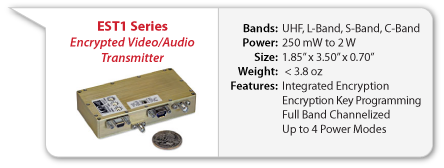EST1 Encrypted Video Transmitter