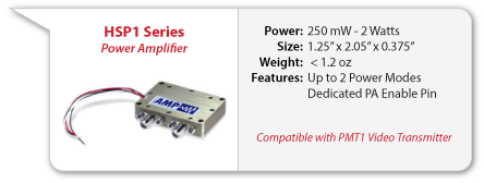HSP1 Analog FM Power Amplifier