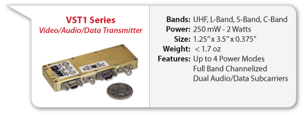 VST1 Surveillance Video Transmitter